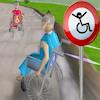 Curse 3D cu scaunul cu rotile joc