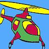 Colorat de elicopter aer joc