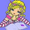 Ann la biblioteca de colorat joc