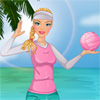 Volei pe plaja Barbie joc