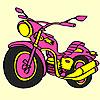 Motocicleta expres mare colorat joc