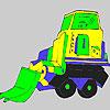 Mai mare camion de colorat joc