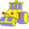 Roata mare masina de colorat joc