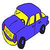 Colorarea auto rapidă albastru joc