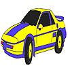 Colorante auto clasic albastru joc