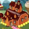 Conacul de bomboane de decorare joc