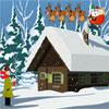 Zăpadă de Crăciun Abode evacuare joc