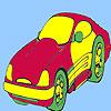 Conceptul stil masina de colorat joc