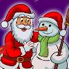 Color the Santa joc