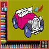 Carte de colorat - autoturisme joc