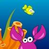 Fericit de peşte mic joc