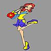 Happy layla coloring joc