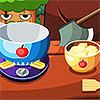 Face strudelul cu mere joc