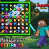 Minecraft Bejeweled joc