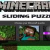 Minecraft alunecare Puzzle joc