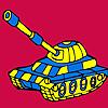 Tancuri militare moderne masina de colorat joc