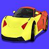 Conceptului modern masina de colorat joc