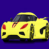 Modern and fast car coloring joc