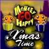 Monkey GO Happy - timp Xmas joc