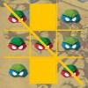 Testoasele ninja Tic Tac Toe joc
