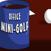 Office mini-golf joc