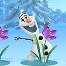 OLAF Frozen ascunde Seek joc