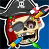 Scheletul pirat la Dentist joc