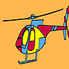 Private firm helicopter coloring joc