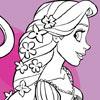 Colorante de par lung Rapunzel joc