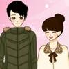 Shoujo Manga valentine cuplu dress up joc